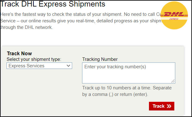 DHL-Tracking